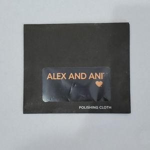 NWT Alex and Ani Polishing Cloth.